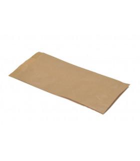 Bolsas de papel kraft 1 Kg. 14+6x27 cm. Caja de 1.000 uds.