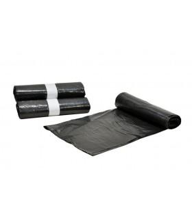 Bolsas de Basura Comunidad 100 x 120 cm. Caja de 30 rollos de 10 uds x rollo. Negras.