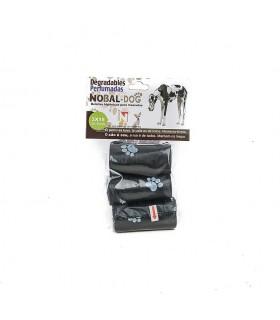 """Bolsitas Higiénicas """"recogida de excrementos"""" para Mascotas. Caja de 12 packs de 3 rollos de 15 Bolsitas."""