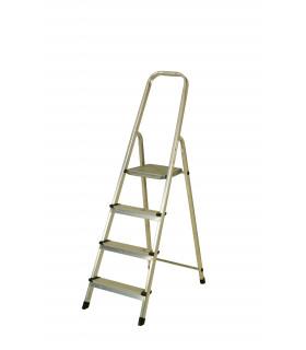 Escalera de aluminio de 4 peldaños