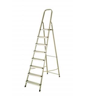 Escalera de aluminio de 8 peldaños