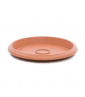 Platos para macetas redondas de 31 cm. de diámetro. Terracota. 12 platos