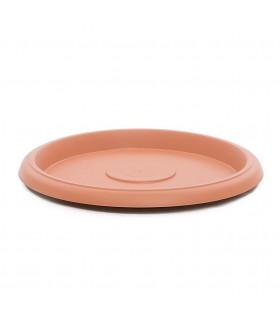 Platos para macetas redondas de 50 cm. de diámetro. Terracota. 6 platos