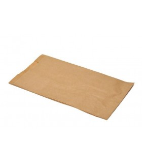 Bolsas de papel kraft 3 Kg. 23+11x3 cm. Caja de 1.000 uds.
