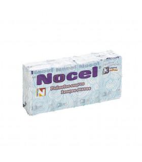 """Pañuelos blancos """"Nocel"""". Caja de 25 blister de 8 paquetes."""