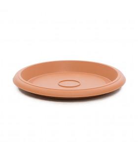 Platos para macetas redondas de 60 cm. de diámetro. Terracota. 6 platos