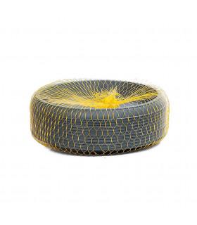 Platos para macetas redondas de 23 cm. de diámetro. Antracita. 12 platos