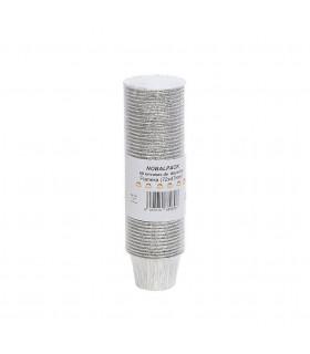 Bandeja aluminio flanera Ref. NO107  (72x45) - Paq 50 flaneras