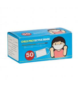 Mascarilla Protección Higiénica Pediátrica - Cajita 50 uds