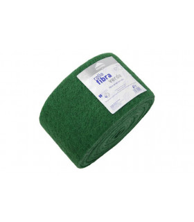 Rollo Estropajo fibra verde 14x600 cm - 1 rollo