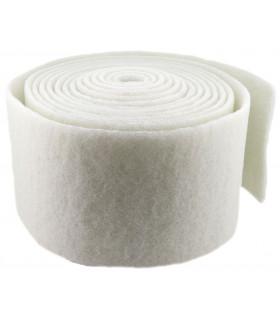 Rollo Estropajo fibra blanca 15x600 cm - 1 rollo