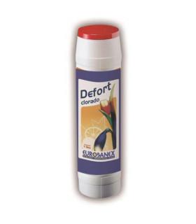 Detergente Defort Clorado Talquera 750 gr - Botella 750 gs