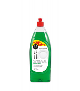 Lavavajillas Concentrado 1250 ml -  Botella 1250 ml -