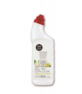 Gel W.C. con Lejia Limón -  Botella 750 ml