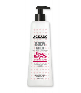 Body Milk Rosa Mosqueta 400 ml - Botella 400 ml