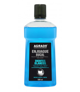 Enjuague Bucal Frescor Menta 500 ml - Botella 500 ml