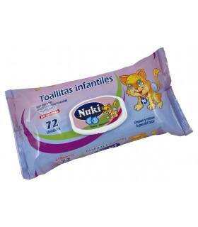 Toallitas infantil NK x72 - Caja 12 paquetes de 72 uds.