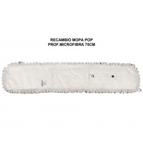 Recambio Mopa microfibra bucle 75 cms - 1 ud