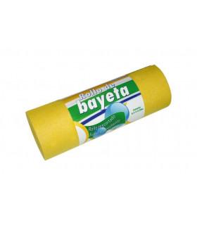 Rollo bayeta amarilla precortado 650x28 cm - 1 rollo