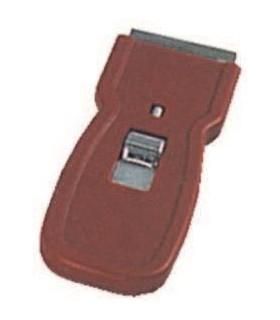 Portacuchillas plastico 4 cms. con cuchilla - 1 ud