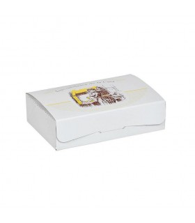 Cajas para pastas 1/4 kg. de 17x11,5x4,3 cm. Paquete de 50 uds.