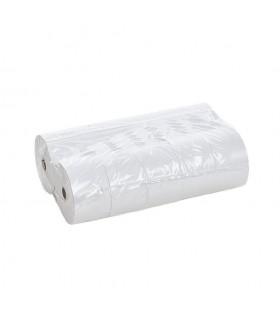 Rollos de papel para caja registradora. 57x65 cm. Paquete de 10 rollos.
