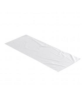 2 kilos de Bolsas de plástico Transparente 20x50 cm.