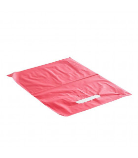 Asa Troquelada 25x35 Rojo 50 micras/70% reciclado - Paq 150 uds