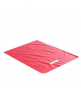 Asa Troquelada 35x45 Roja 50 micras/70% reciclado - Paq 100 uds
