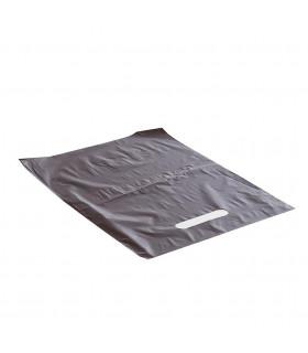 Asa Troquelada 25x35 Marron 50 micras/70% reciclado - Paq 150 uds