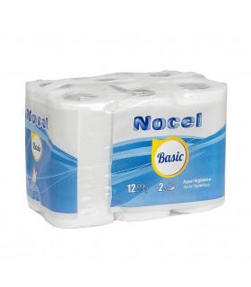 "Higienico ""NOCEL AZUL"" X12 - Fardo 9 paq x12 rollos"