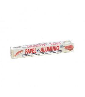 Rollos de papel de aluminio de 16 servicios. Caja de 24 rollos.