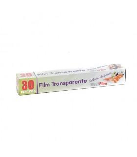 Bobinas de film transparente. 30 metros. Caja de 24 rollos.