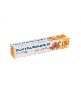 Bobinas de film transparente. 100 metros. Caja de 12 rollos.