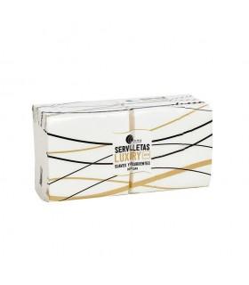 Servilletas de 2 capas de 20x20 cm. Caja de 32 paquetes de 100 uds.