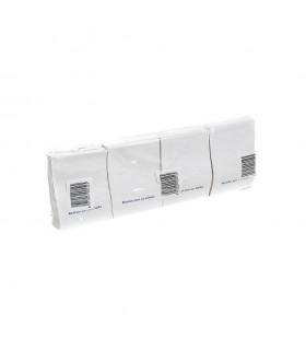 Servilletas mini-service de 17x17 cm. Caja de 8 paquetes de 400 uds.