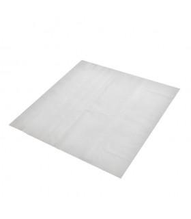 Manteles de papel blancos de 100x100 cm. Caja de 500 uds.