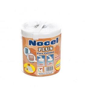 """Rollo de papel multiusos """"Nocel Plus"""" 1 rollo  15 rollos.  Fardo de 6 rollos."""