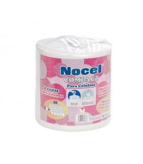 """Rollo de papel multiusos """"Nocel Compact"""" 1 rollo  25 rollos.  Fardo de 3 rollos."""