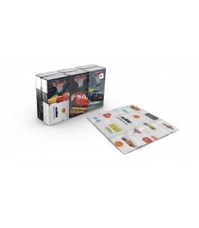 """Pañuelos de 4 capas """"Cars"""". Caja de 24 blister de 6 paquetes."""