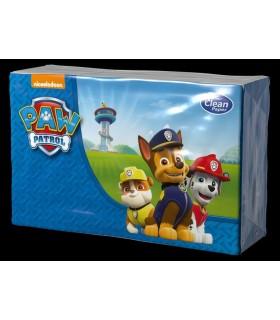 "Pañuelos de 4 capas ""Patrulla Canina"". Caja de 24 blister de 6 paquetes."
