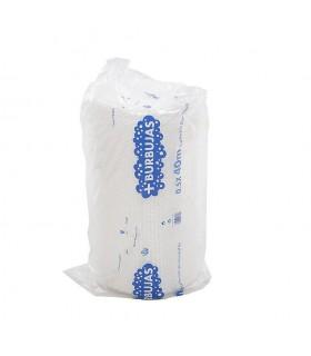 Rollo de papel de burbujas transparente 0,50x40 metros. Caja de 3 rollos.