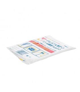 Plástico cubre todo traslúcido 4x5 metros. Caja de 144 paquetes (12x12)