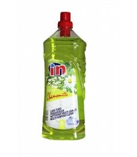 """Fregasuelos con aroma a camomila """"IN"""" 2 L. Caja de 9 botellas."""