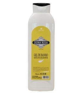 """Gel de baño con aroma aloe vera """"Doña Rosa"""" 750 ml. Caja de 6 botellas."""