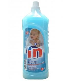 """Suavizante azul """"IN"""" 2 L. Caja de 9 botellas."""