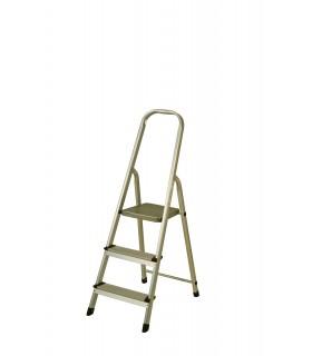 Escalera de aluminio de 3 peldaños