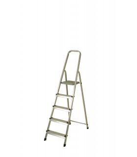 Escalera de aluminio de 5 peldaños