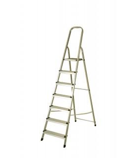 Escalera de aluminio de 7 peldaños
