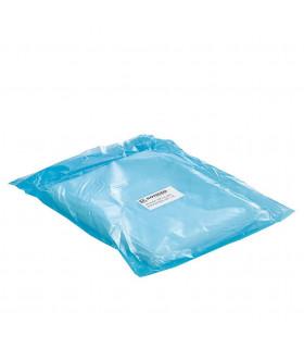 1 kilo de Bolsas de plástico Transparente 20x50 cm.